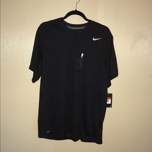 Large dri fit black shirt  new with tags